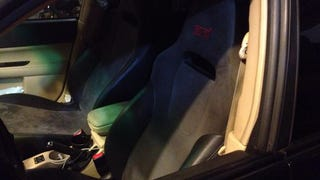 Just got GR STI seats in the Forester