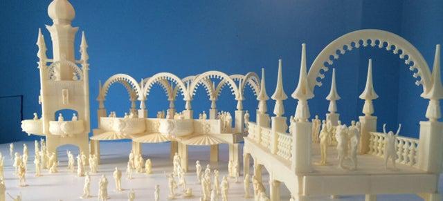 1914 Coney Island Diorama Is World's Largest Desktop-Printed Sculpture