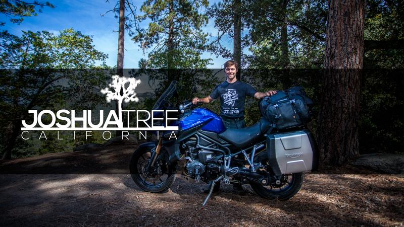 Joshua Tree - Triumph Explorer - MotoGeo Adventures
