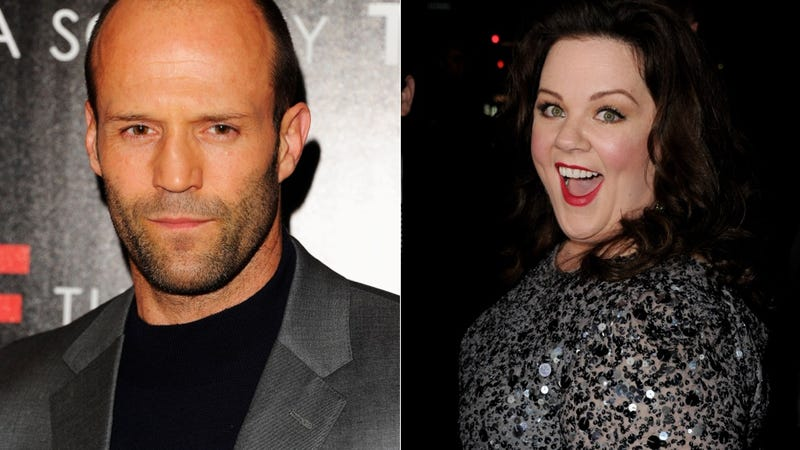 Melissa McCarthy and Jason Statham Are Together at Last -- As Spies