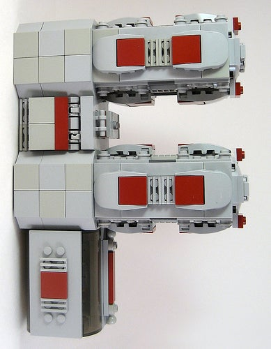 Lego Spaceships Spell Out the Alphabet