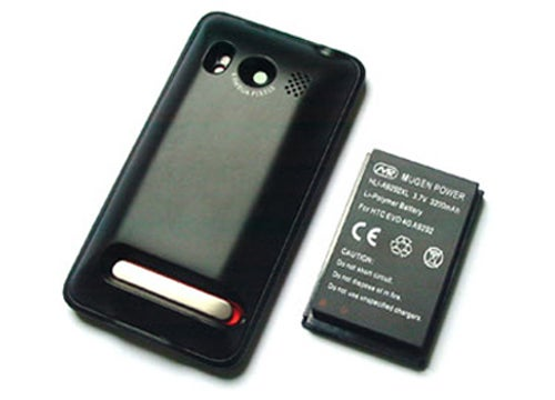 Mugen Battery Pack Doubles Evo 4G Battery Life