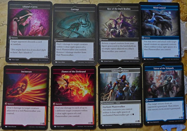 Arena of the Planeswalkers Board Game is Part Heroscape ... Planeswalker Arena Board Game