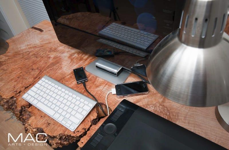 The Maple Burl Desk