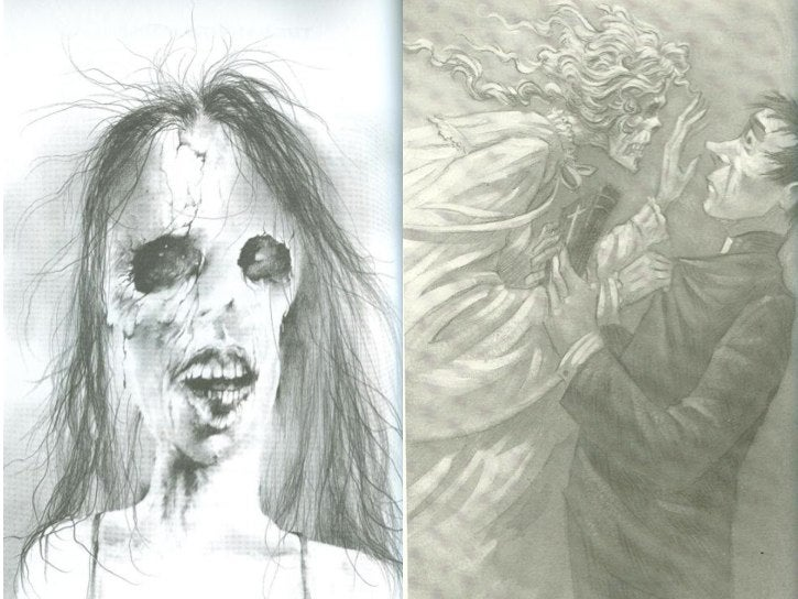 Publishers destroy Scary Stories to Tell in the Dark's amazing artwork