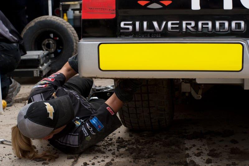 'I Feel Like I'm Shoveling Elephant Shit' - Mud At NASCAR On Eldora