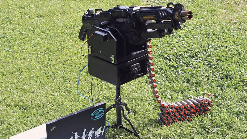 Automatic NERF Sentry Gun Is Just About The Coolest Thing Ever Made