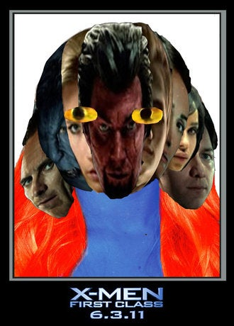 io9 readers transform eye-gougingly bad X-Men posters into works of art