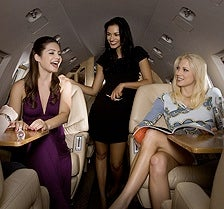 Power Girls Commandeering Private Jets a Trend, in Fantasy World