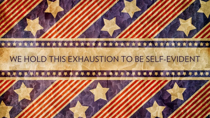 It's Your Patriotic Duty to Be Overworked and Miserable