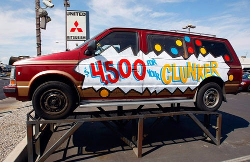 Ten Most Traded-In And Purchased Cash For Clunkers Cars (Almost Over!)