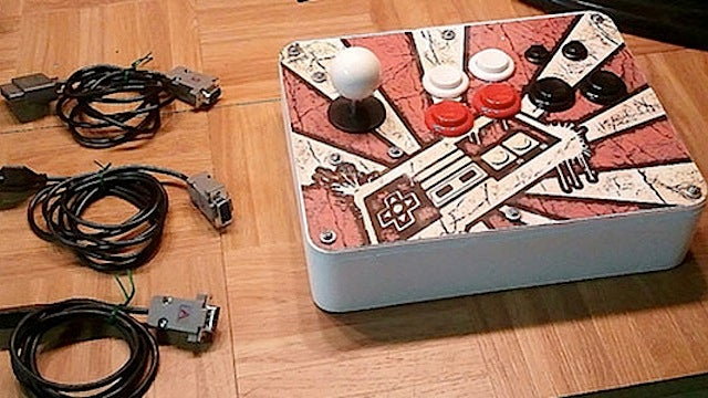 Build an All-In-One Arcade Stick that Works on Multiple Consoles