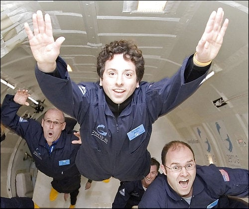 Larry and Sergey yanked party plane from space mission