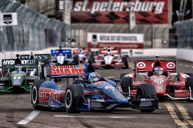 Indycar 2014 is upon us with St Petersburg