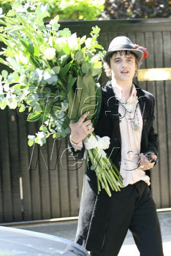 Pete Doherty Making Up For Moss-ed Time