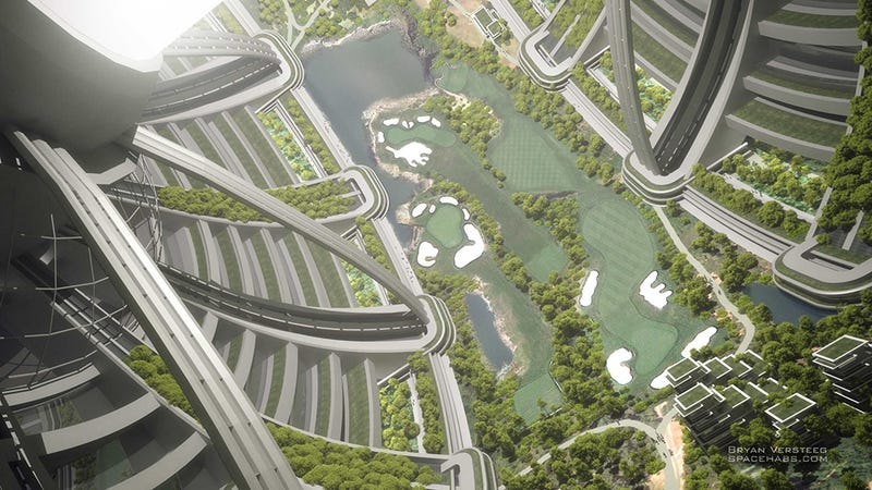 What a space city would actually look like in real life
