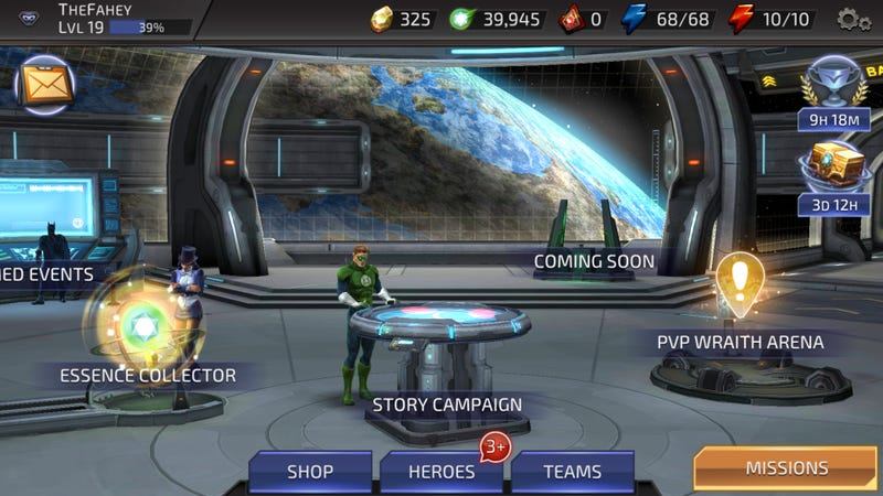 DC Legends Is Star Wars: Galaxy Of Heroes With A Story