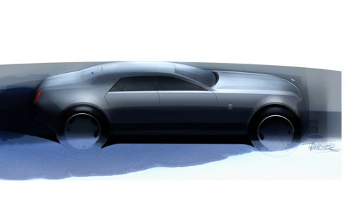 Rolls-Royce RR4 Gets A Sketchy Tease Before Real 2010 Reveal