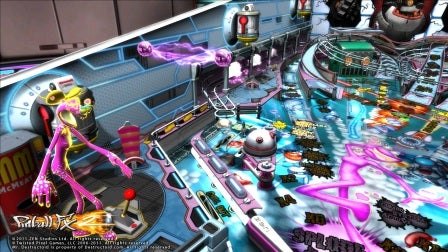 Six Shots of Pinball FX 2's Next Table, Ms. 'Splosion Man