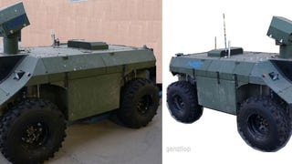 For Sale on eBay: Military Vehicle To Start Your Robot Army