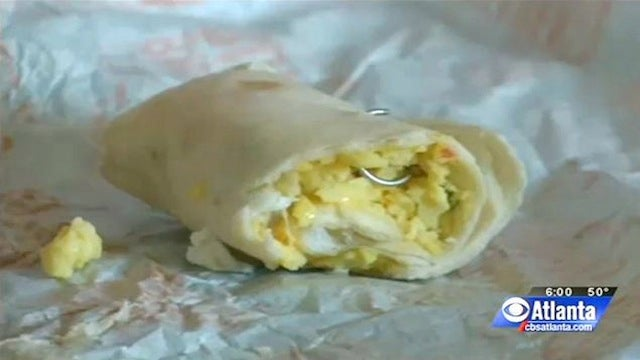 Mom Finds Nose Ring In Daughter's McDonald's Breakfast Burrito