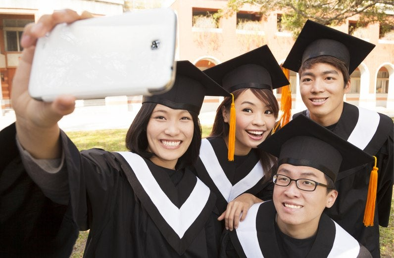 Universities Are Starting to Crack Down on Graduation Selfies
