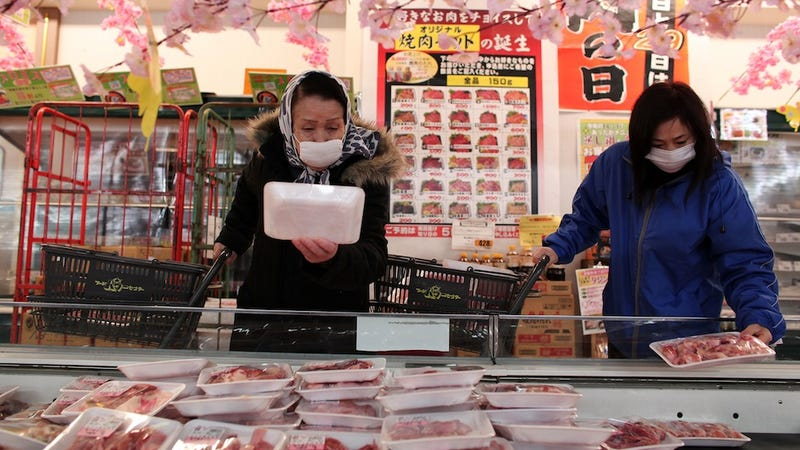 Fukushima's Radiation Now Spreading in Japanese Meat