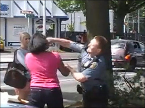 Police Union: Cop Who Punched Teen Girl in the Head Was Right
