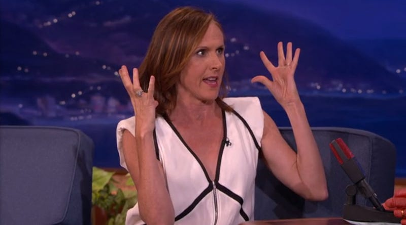 "The TSA Gives Molly Shannon ""Head Orgasms"""