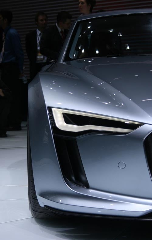"Audi Reveals Second e-Tron Electric Concept, For ""Idiots"""