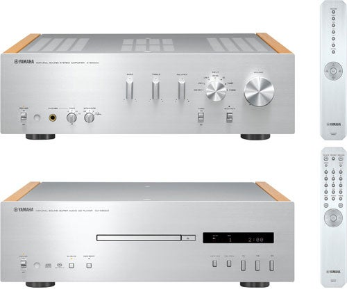Yamaha Aims High With CD-S2000 CD Player and A-S2000 Amplifier