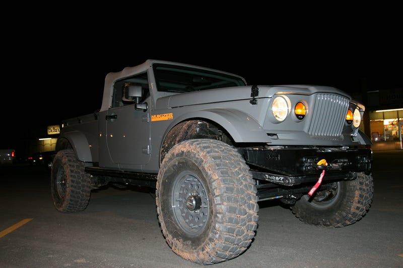 Jeep NuKizer 715 Concept: A J8-Based 'Nam Flashback