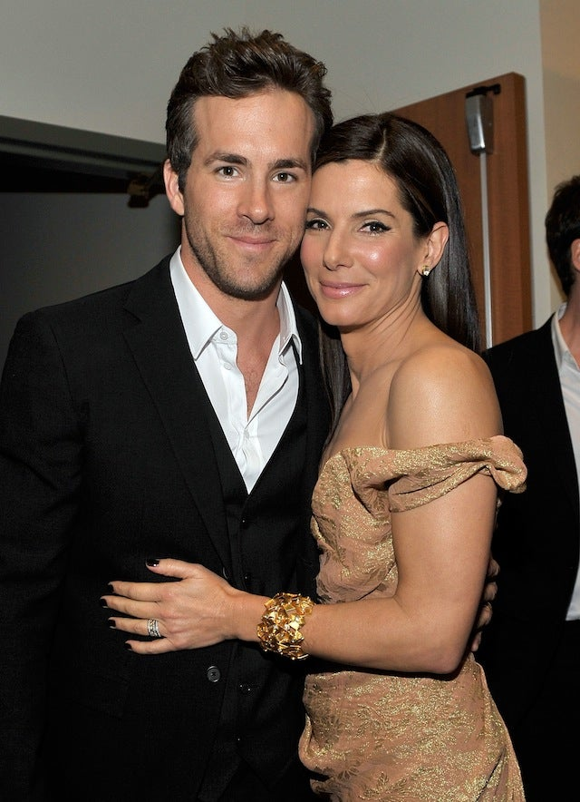 Sandra Bullock & Ryan Reynolds Spend New Year's Eve Together