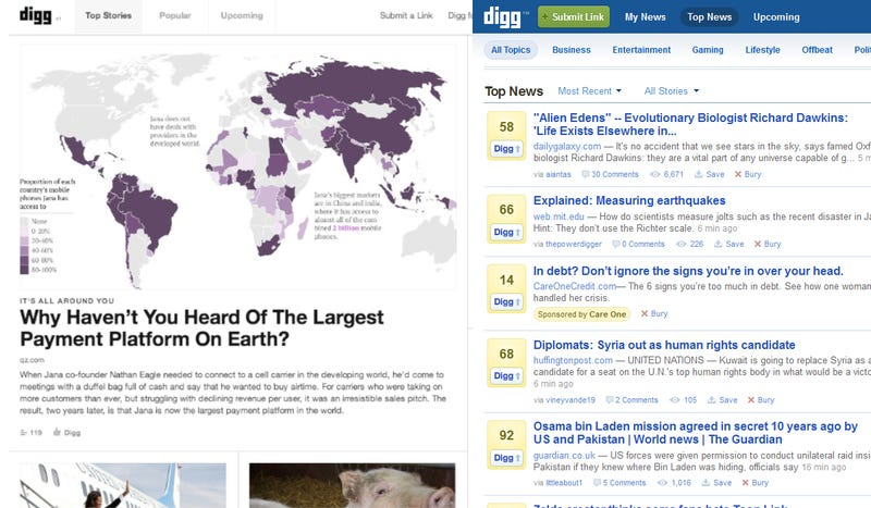 How Digg Was Saved in Just Six Weeks