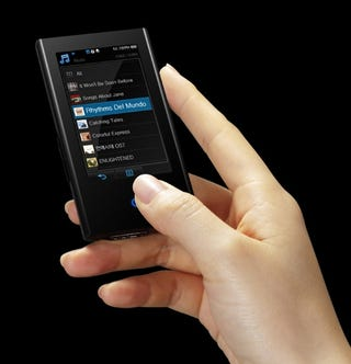 Ultra-Sleek Samsung Yepp YP-P2 Has Touchscreen, Bluetooth, Video Playback