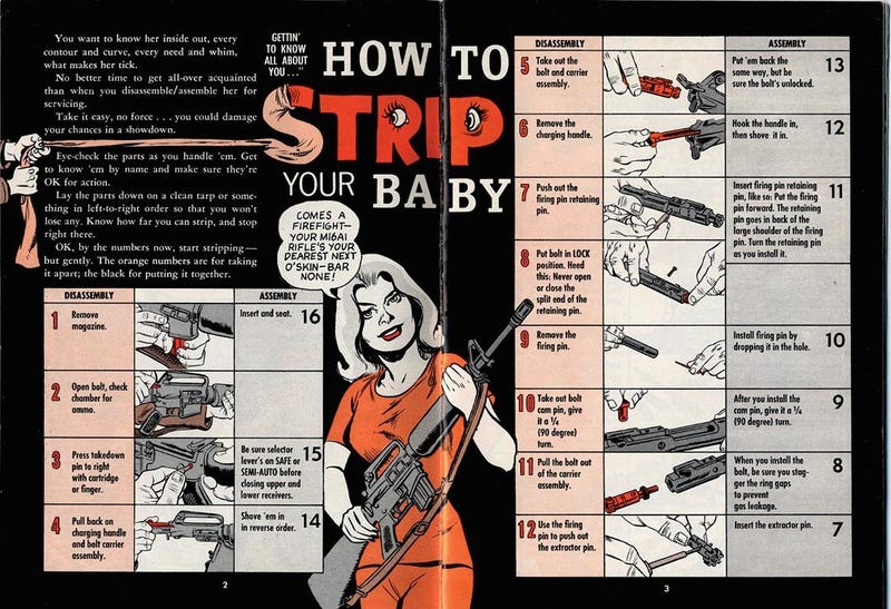 That Time Will Eisner Drew An Oversexed M-16 Comic Book for the Army