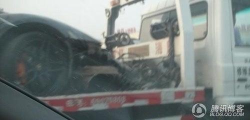 Chinese Lamborghini Crash