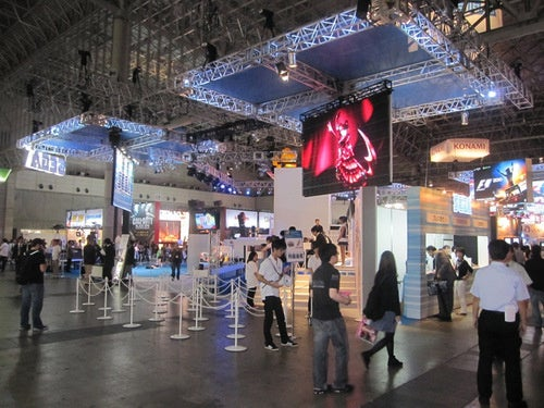 The Booths Of The Tokyo Game Show