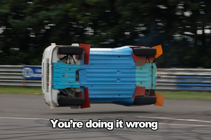 "Thirty Vehicular ""You're Doing It Wrong"" Moments: Version 4.0"