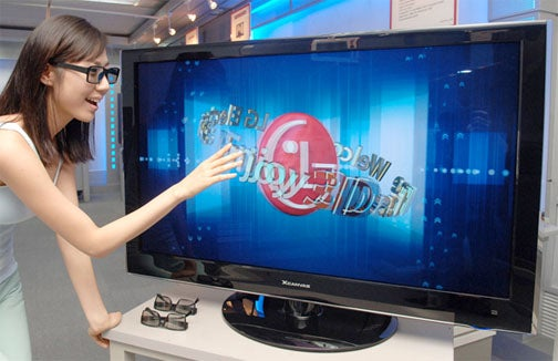 LG Brings Its First 3D LCD TV To Market (In Korea)