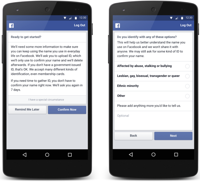 "Facebook Finally Offers a Workaround for Its Controversial ""Real Name"" Policy"