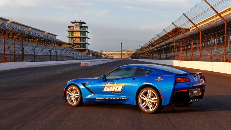The 2013 Indianapolis 500 Pace Car Is A C7 Corvette