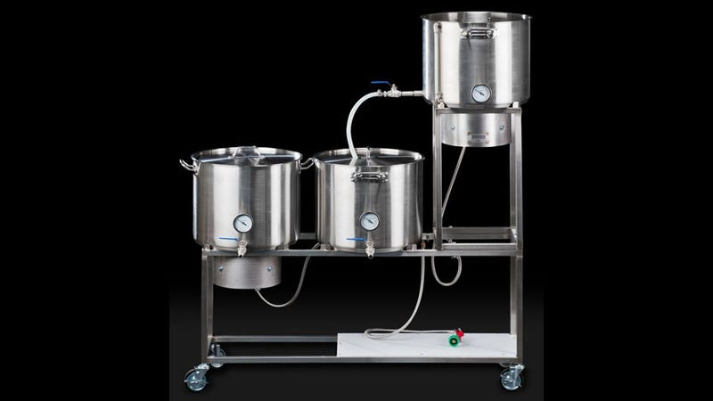 Synergy Home Beer Brewing System: Mr. Beer's Rich, Crazy Uncle
