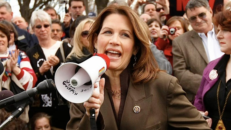 Frank Gaffney Uses Creepy Logic to Defend Fellow Crazy Person Michele Bachmann