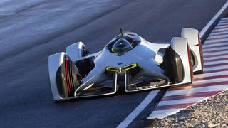 Chevrolet diseña un coche futurista con motor láser para <em>Gran Turismo</em>