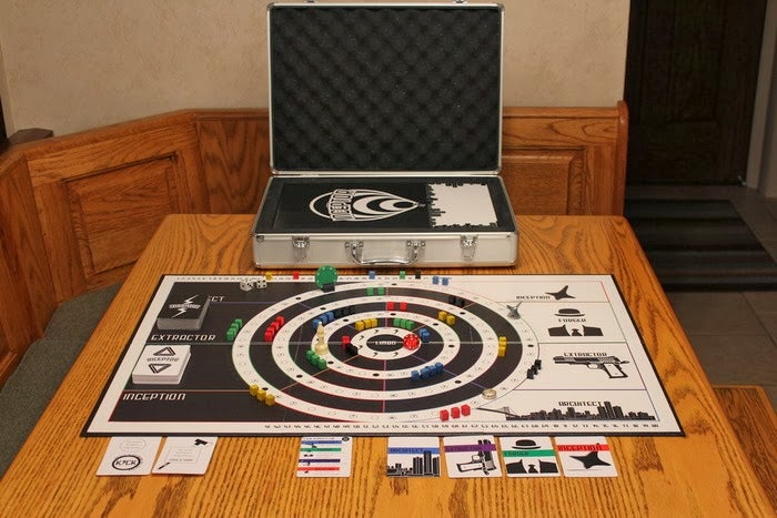 This Inception board game takes place in the dream world