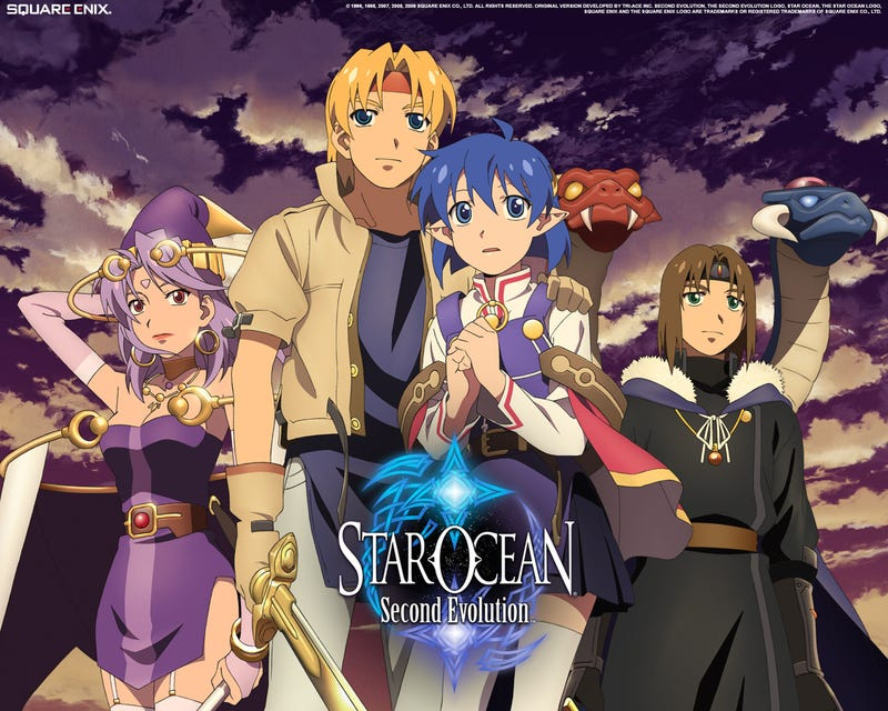 Star Ocean: Second Evolution Promo Art