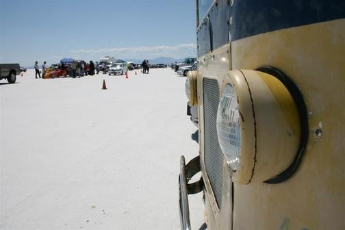 The Coolest Slowest Car At Bonneville