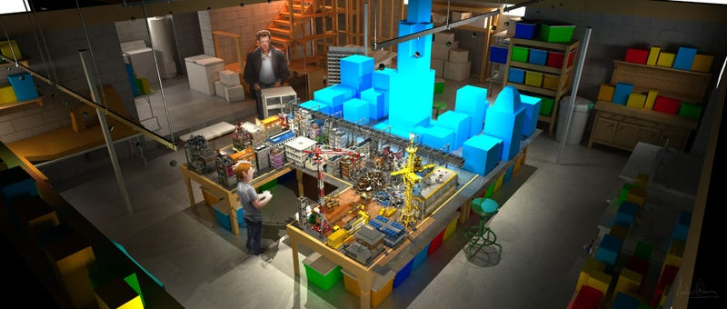Lego Movie concept art reveals the hidden secrets of LEGO LAND!