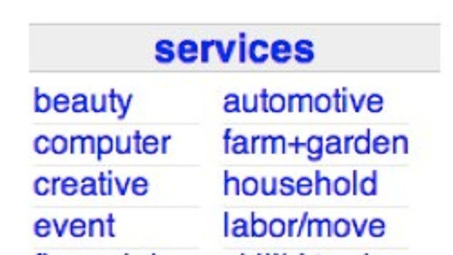 adult services online craigslist hookups